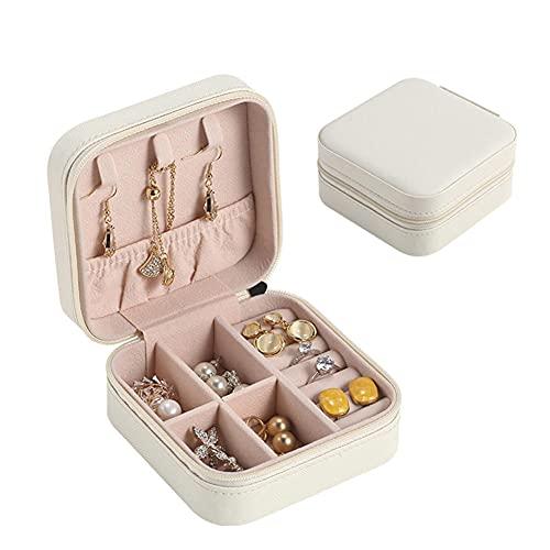 XGYUII - Contenitore per gioielli in pelle PU, antigraffio, portatile, multifunzione, a prova di umidità