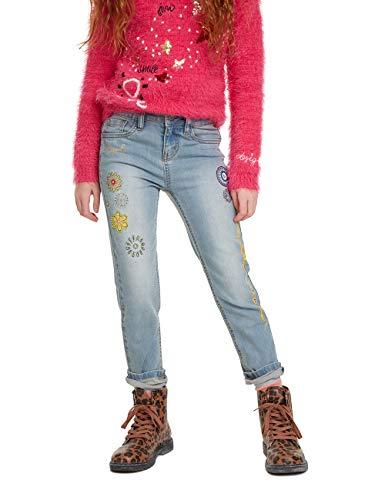 Desigual Mädchen Trousers Fernandez Jeans, Blau (Denim Medium Light 5160), 152 (Herstellergröße: 11/12)