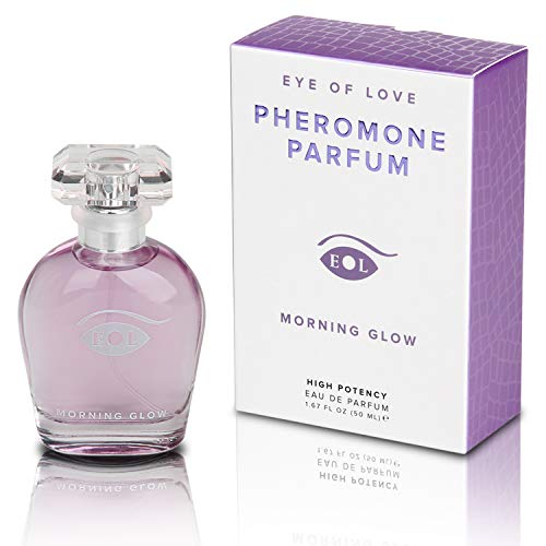 MORNING GLOW by Eye of Love - Pheromone Perfume Spray for Women - Attract your man with Confidence & Elegance - Extra Strength Human Pheromones Formula - 50ml