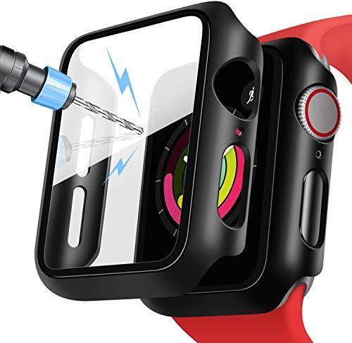 DigiHero Displayschutzfolie für Apple Watch, 40 mm, 44 mm, iWatch 40 mm, 44 mm, Displayschutzfolie mit Schutzhülle für Serie 4 / Serie 5 Damen und Herren