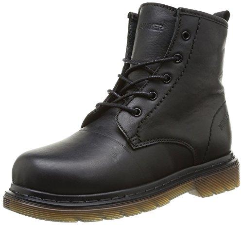 Bunker Crush, Boots garçon - Noir (So Carbon), 28 EU
