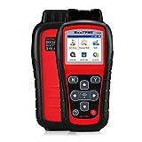 Autel TS508 TPMS Relearn Tool Tire Pressure Monitor - MaxiTPMS TS508 TPMS Reset Tool Program 16 MX-Sensor Tire Sensor DTCs Key Fob Testing read/check/active for all 315/433MHz (Upgraded TS401/408/501)