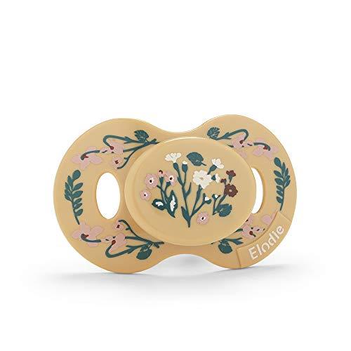 Elodie Details Baby Schnuller ab 3 monaten - Golden Vintage Flower, Gelb