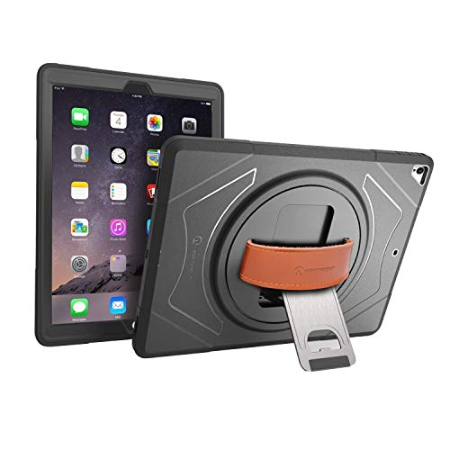 New Trent iPad Case for iPad Pro 12.9 case 2nd Generation, Heavy Duty Full-Body Rugged ipad 12.9 Case, Built-in Screen Protector, for Old Model 1st & 2nd Generation ONLY, NOT for 3rd Gen iPad Pro