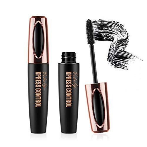 Dhukien 5D Voluminous Fiber Mascara, 5D Silk Fibre Lash Mascara, länger Dicker wasserdicht 5D Fibre Mascara