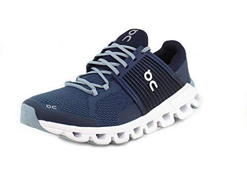 on Running Men's Cloudswift Road Shoes Denim/Midnight (13 M US)