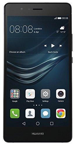 Huawei P9 Lite Smartphone sbloccato, 16 GB di memoria interna, 3 GB di RAM, Android 6 nero (rigenerato certificato)