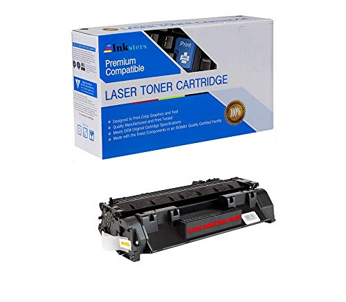 Inksters Compatible Toner Cartridge Replacement for HP 80X CF280X Black - Compatible with Laserjet Pro 400 M401A M401D M401DN M401DW M401N M425DN M425DW