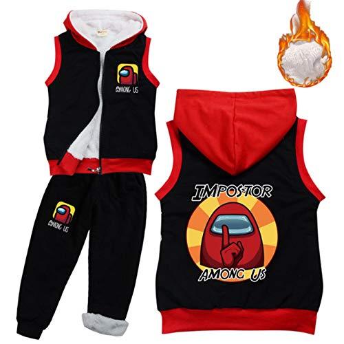 Baby Boys Clothing Sets Kids Winter Warm Faux Down Vest Jacket Pants 2pcs Set Children Snowsuit Toddler Girl Clothes Outfits