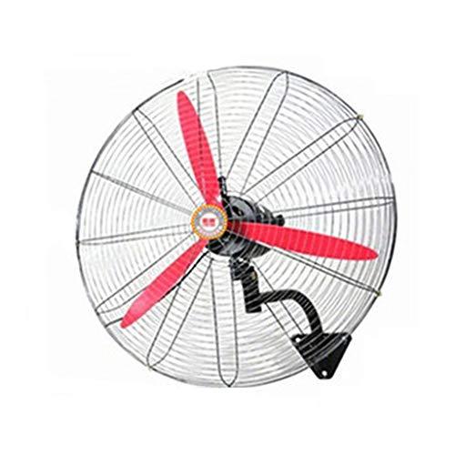 Ventilador de paredVentilador Mecánico de Cuchilla de Acero Plástico, Ajuste Automático Del Cabezal de Sacudida, Adecuado para Ventilador de Pared Industrial / ComercialVentilador eléctrico(Size:70cm)