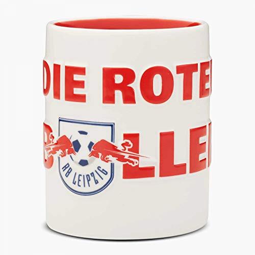 RB Leipzig Home Tasse - Die Roten Bullen - Kaffeebecher RBL Becher, Kaffeetasse, Mug - Plus Lesezeichen Wir lieben Fußball