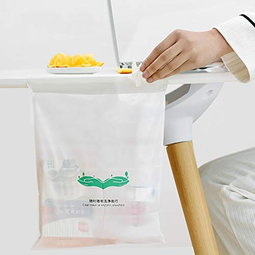 Sacs poubelle de voiture Hanging portables, sacs à usage unique Post-it Stockage, Convient for Poubelles voitures dans les voitures, les maisons, les écoles et les bureaux
