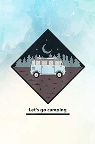 Let's go Camping Account Information Notebook: size 6' x 9', 114 pages