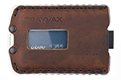 Made in USA Minimalist leather wallet and credit card holder Designed to fit 4-7 cards and up to 5 bills Convenient pull tab provides quick access to credit cards and bills This high quality product is backed by a 65-year heirloom warranty
