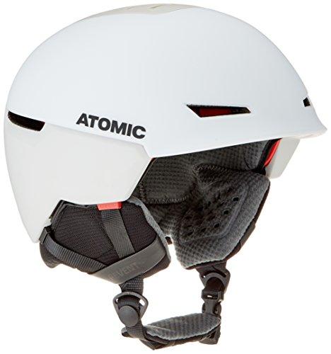 ATOMIC Revent + LF Casco de esquí All-Mountain, Live Fit, Medida de la Cabeza 51-55 cm, Unisex, Blanco, S