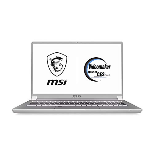 MSI P65 Creator-1274 Creator 15. 6' UHD Ultra Thin and Light Professional Laptop Intel Core i9-9880H RTX2080 32GB DDR4 1TB NVMe SSD TB3 Win10PRO VR Ready