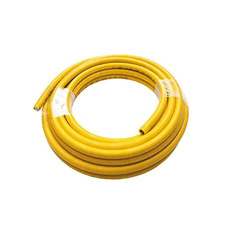 """Flexible Gasleitung aus rostfreiem Uniroll von 20 mt. 3/4 """"15266 UNI EN bedeckt"""