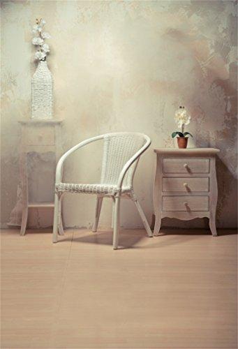 YongFoto 1,5x2,2m fotografi bakgrund interiör vit rottingstol skåp färsk blomma massiv suddig tapet trä golv foto bakgrund bakgrund bakgrund fotografi videofest barn foto studio rekvisita