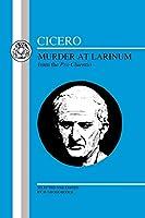 Cicero: Murder at Larinum (Latin Texts)