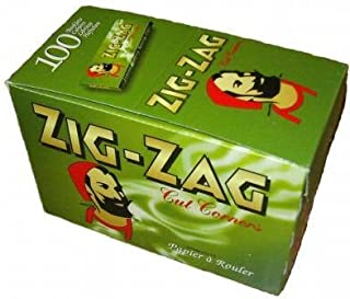 Zig Zag Green Cigarette Papers 100pks/Box