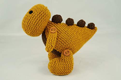 Jouet de dinosaure T Rex jouet en tricot dragon peluche tricoté à la main t-rex crochet t-rex prop