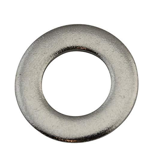 D2D | VPE: 10 Stück - Unterlegscheiben Form A - Größe: M14 - DIN 125 - Edelstahl A2 V2A - Beilagscheiben Unterlagscheiben