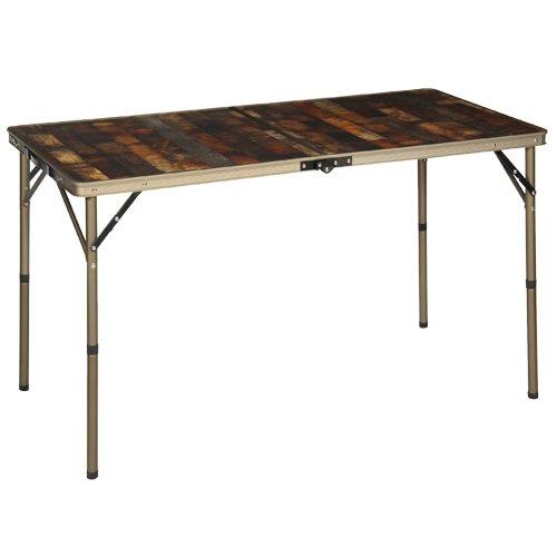 クイックキャンプ アルミ アウトドア テーブル 120cm