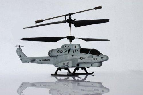 Qiyun U809 Cobra Missile Launching 3.5 Channel RC Helicopter Gyroscope RTF w/ Missiles