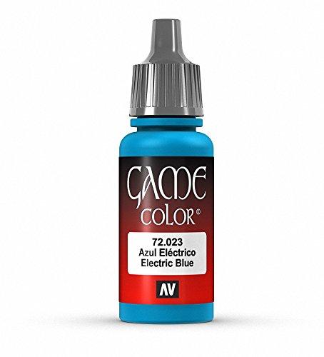 Vallejo Game Color - Colore Acrilico, 17 ml, Blu (Electric Blue)
