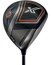DUNLOP(ダンロップ) ゴルフ ドライバー ゼクシオ エックス Miyazaki AX-1 カーボンシャフト メンズ 右 45.5インチ ダークグレー ゴルフクラブ
