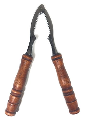 Traditional Wooden Nut and Seafood Cracker Nutcracker/Opener Tool l Good for Lobster, Crabs, Walnuts