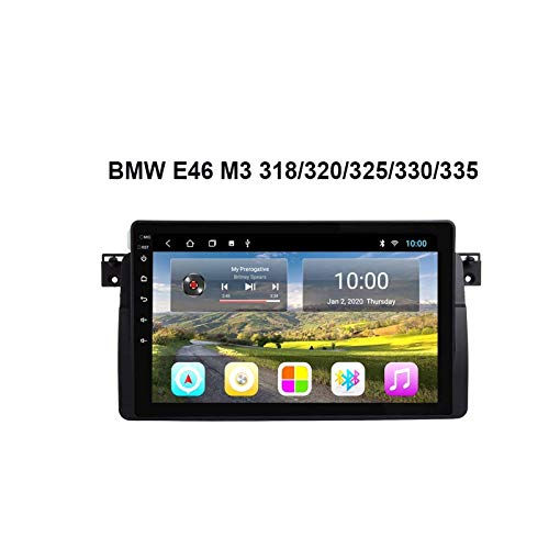 9 Pulgadas Touchscreen Car Estéreo GPS Navegación Para BMW E46 M3 318/320/325/330/335 Auto Multimedia Video Player SAT NAV Radio Receptor Con Wifi Bluetooth Mirrorlink SWC USB,8 core 4g+wifi: 2+32gb