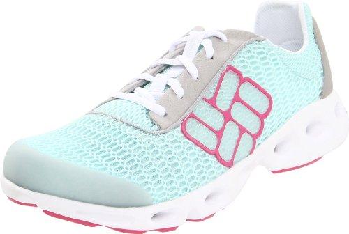 Columbia Drainmaker, Chaussures de randonnée femme - Bleu/rose, 38 EU (6.5 US)