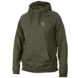 Fox Collection Green / Silver LW Hoodie – Pull, taille : XXL