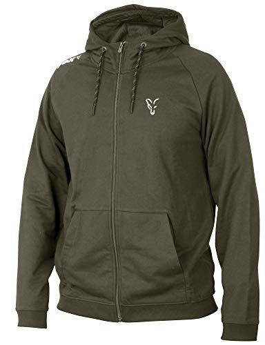 Fox Collection Green/Silver LW Hoodie - Pullover, Größe:M