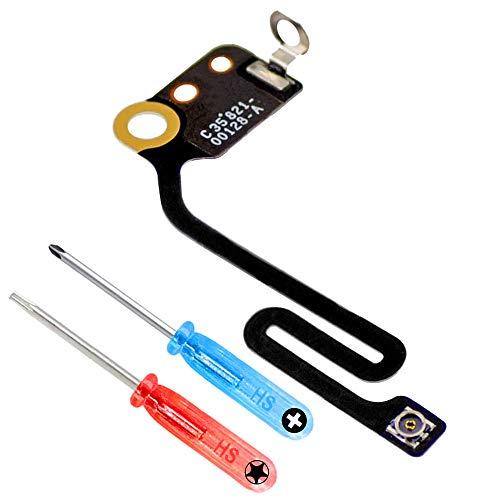 MMOBIEL Cable Flex (Banda/cintilla) para señal de Bluetooth Antena Compatible con iPhone 6 Plus WiFi. Incl. 2 x Destornilladores para fácil instalación