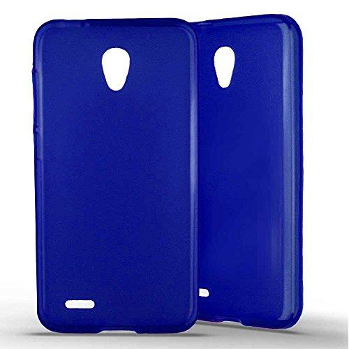 1001 Coques - Cover in silicone per Alcatel One Touch Go Play â e Blu