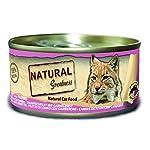 Natural Greatness Greatness Comida Húmeda para Gatos de Filete de Atún y Gambas. Pack de 24 Unidades. 70 gr Cada Lata 6