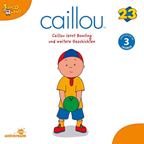 Caillou lernt Bowling Titelbild