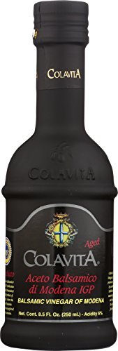 Colavita Aged Balsamic Vinegar of Modena IGP, 3 years, 8.5 Floz, Glass Bottle