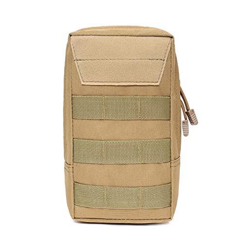 Leezo Airsoft Jagd MOLLE Pouch Bag Schießen Utility Bags Weste EDC Gadget Hüfttasche Outdoor-Zubehör, männliche Multifunktions-Gürteltasche