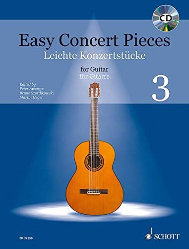 Easy Concert Pieces: Band 3. Gitarre. Ausgabe mit CD.