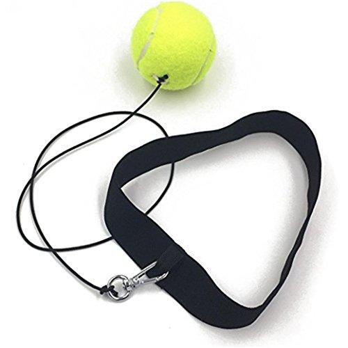Gaddrt, palla da allenamento per boxe, con fascia elastica, per esercizio di riflessi, yellow
