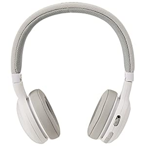 JBL E45BT On-Ear Wireless Headphones (White)