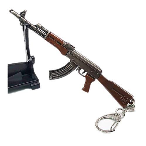 Womens 12cm 7.62mm Weapon Rifle AKM Model Key Chains AK 47 Toys Gun...