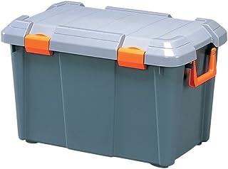 アイリスオーヤマ 収納 BOX 600×375×380 HDBOX 600D グレー/モスグリーン