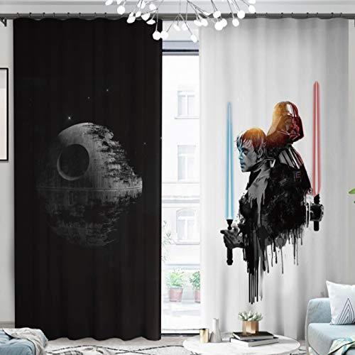 yug Cortina Balcón Dormitorio Estudio Ventana Francesa Ventana De Bahía Partición Estilo Nórdico Simple Star Wars Apagón Personalidad Decoración Moderna