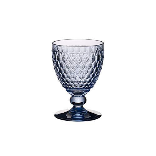 Villeroy & Boch 11-7309-0021 Weinglas, Glas, Blau, 13.2 x 6 x 4 cm
