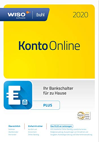 WISO Konto Online Plus 2020 [Online Code] | PC | PC Download | Plus | PC Aktivierungscode per Email