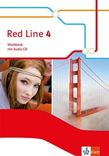 Red Line 4: Workbook mit Audio-CD Klasse 8 (Red Line. Ausgabe ab 2014)